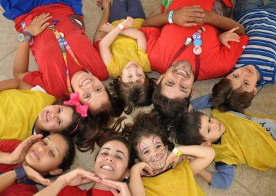 Crianças com os Tios no Hotel Fazenda Mazzaropi