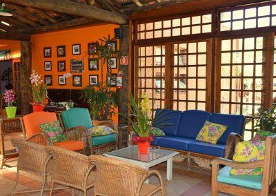 Recepção Hotel Fazenda Mazzaropi