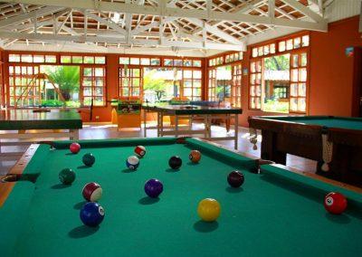 Mesa de Bilhar Hotel Fazenda Mazzaropi