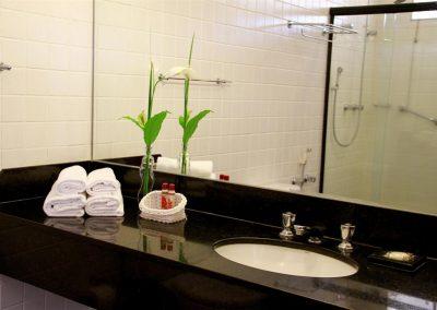 Banheiro Hotel Fazenda Mazzaropi.