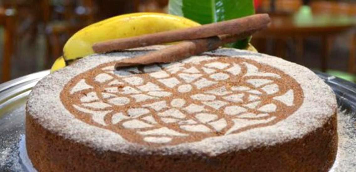 bolo de banana hotel fazenda mazzaropi - Bolo de Banana