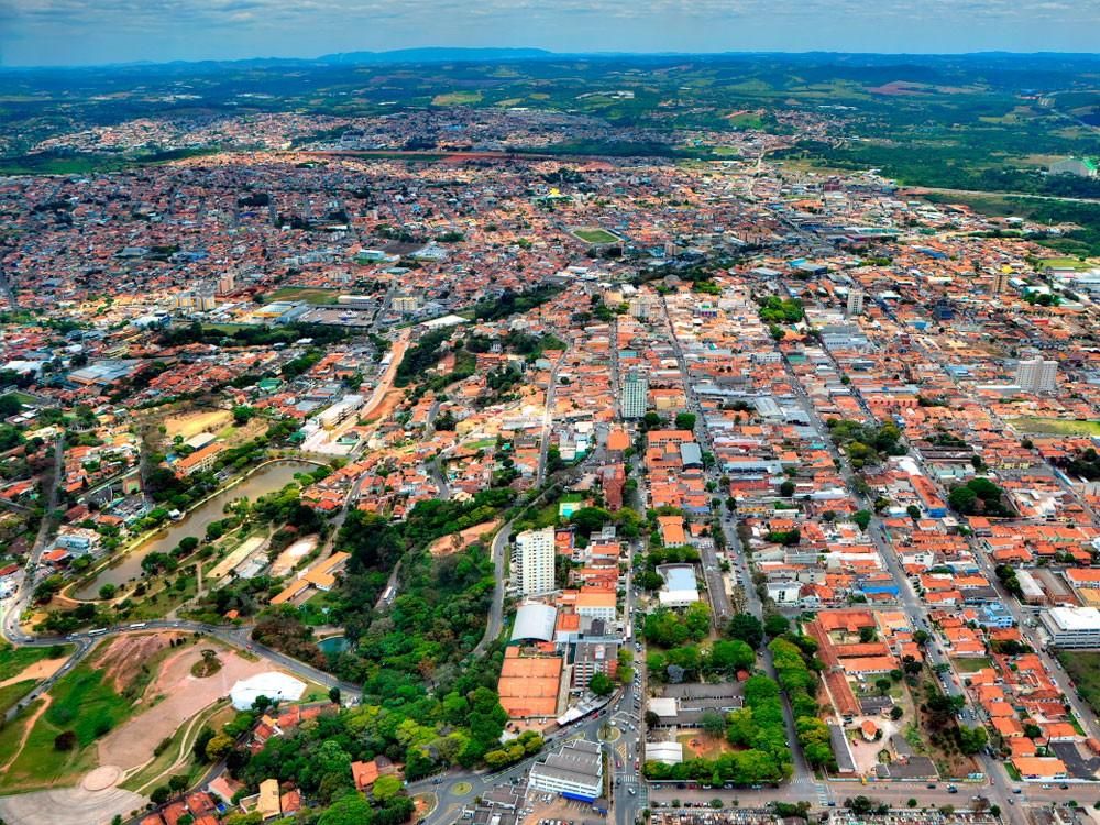 cidade atibaia - Localização