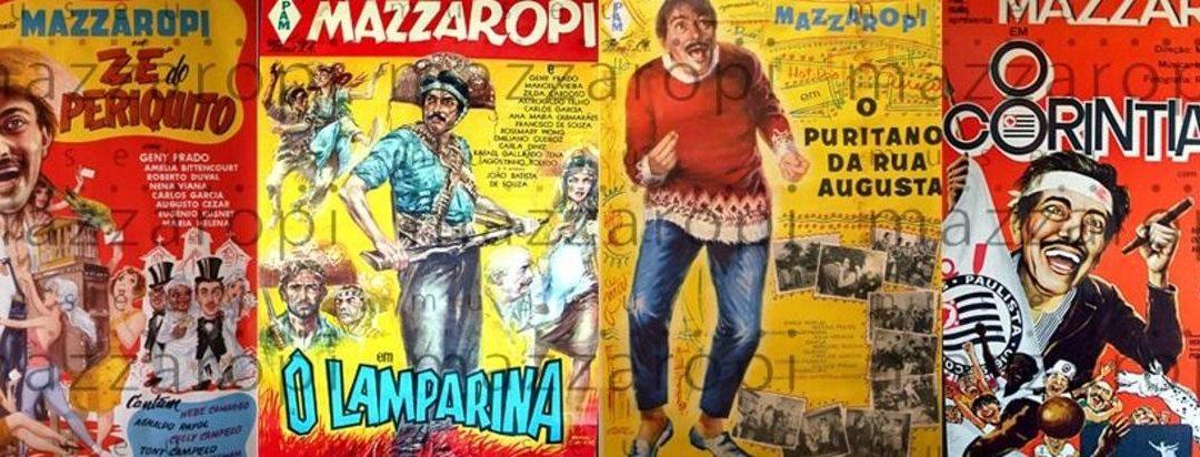Oito filmes de Amacio Mazzaropi são digitalizados