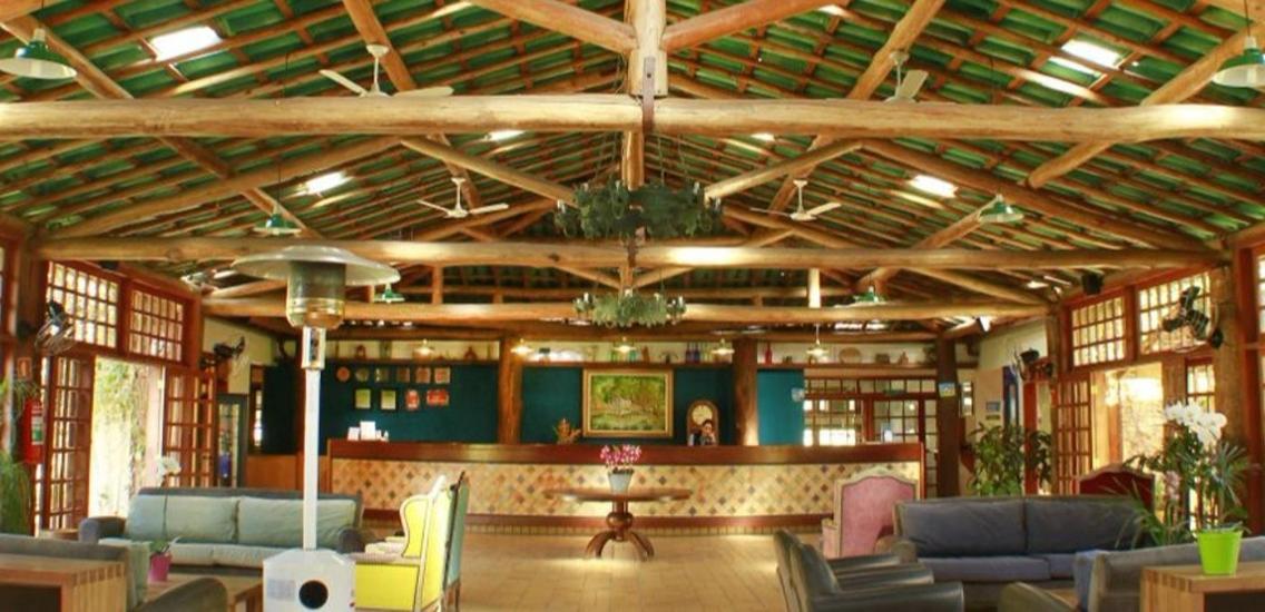 recepcao hotel fazenda mazzaropi 1 - Hotel Fazenda Mazzaropi oferece Internet sem fio