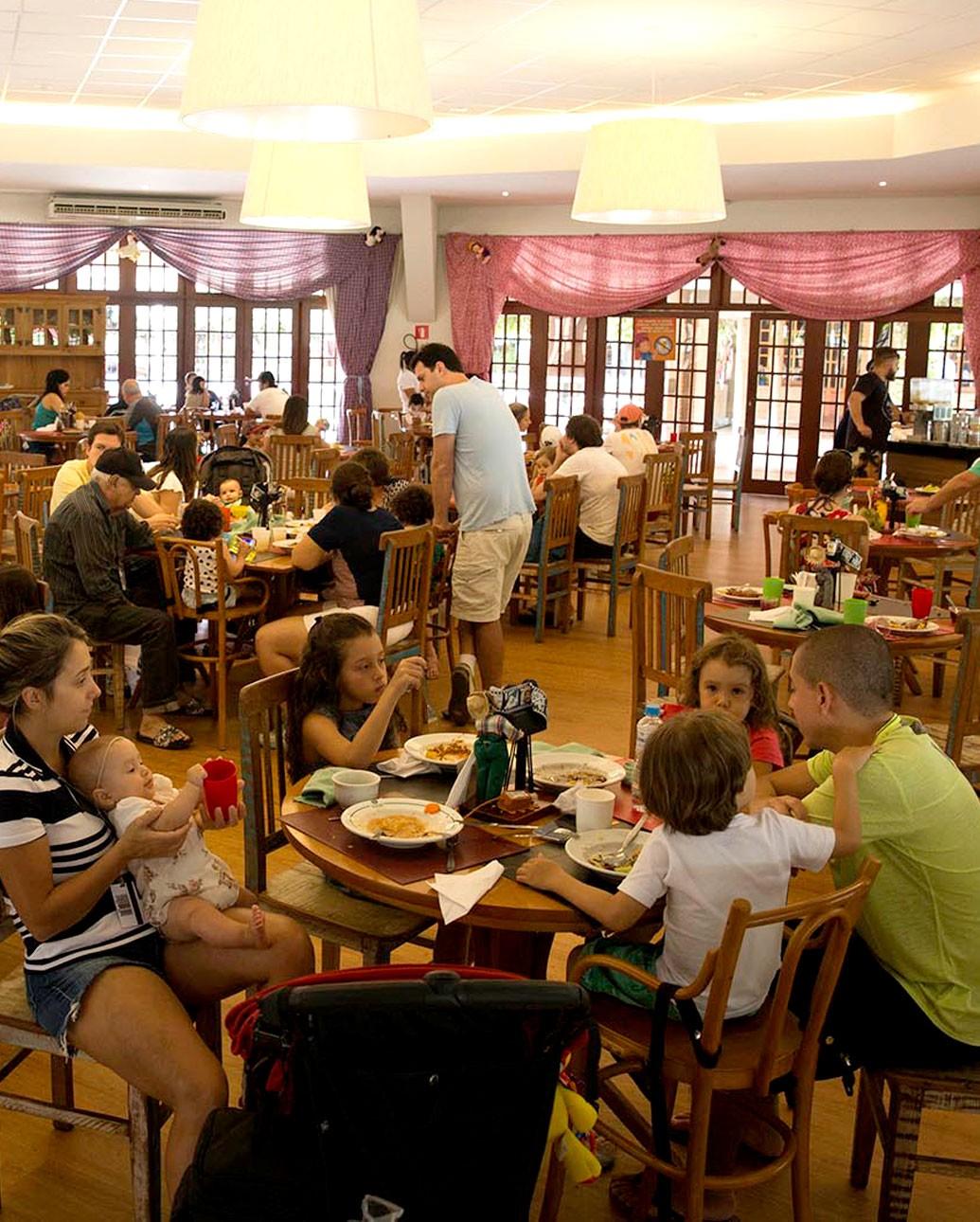restaurante hotel fazenda mazzaropi 1 - Culinária