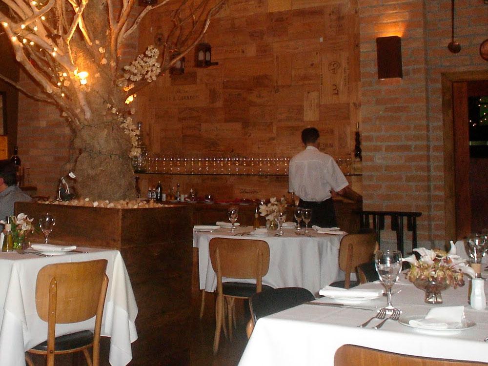 restaurante toscana taubte - Localização
