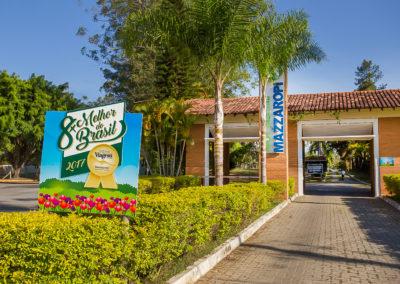 Portaria Hotel Fazenda Mazzaropi