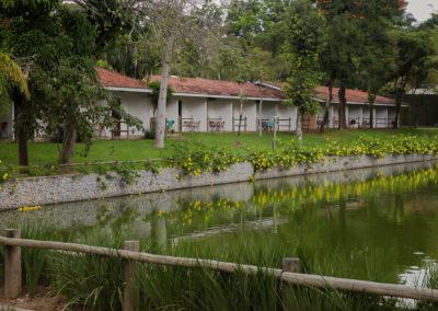 Vista Apartamentos Lago Hotel Fazenda Mazzaropi
