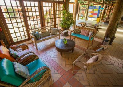 Recepção - Hotel Fazenda Mazzaropi